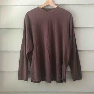 Lot of 2 Mod-o-doc Mens Brown Lived In Tee Shirts